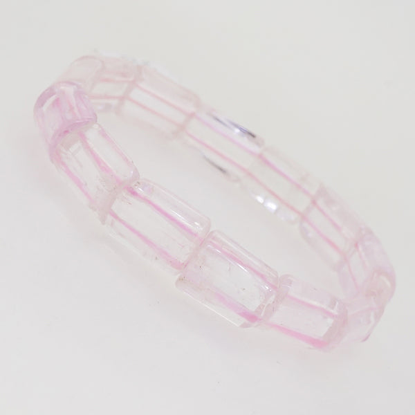 A-Grade Kunzite Bangle (S) - Gaea | Crystal Jewelry & Gemstones (Manila, Philippines)