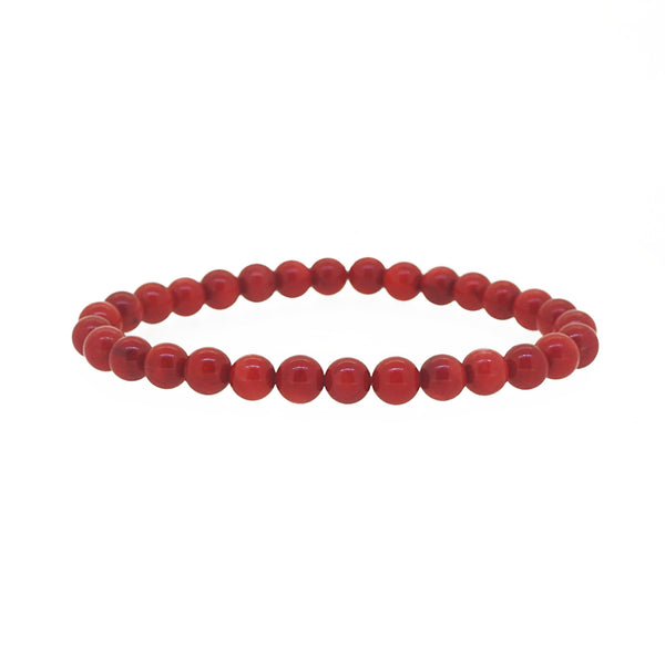 Japanese Red Coral 6mm - Gaea | Crystal Jewelry & Gemstones (Manila, Philippines)