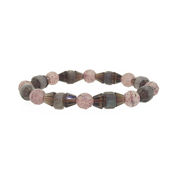 Pink Muscovite, Smoky Quartz and Labradorite - Gaea | Crystal Jewelry & Gemstones (Manila, Philippines)