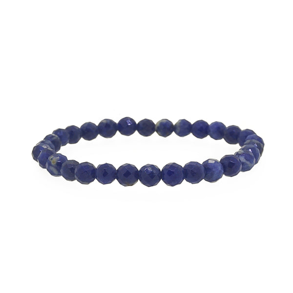 Blue Sodalite Faceted 6mm - Gaea | Crystal Jewelry & Gemstones (Manila, Philippines)