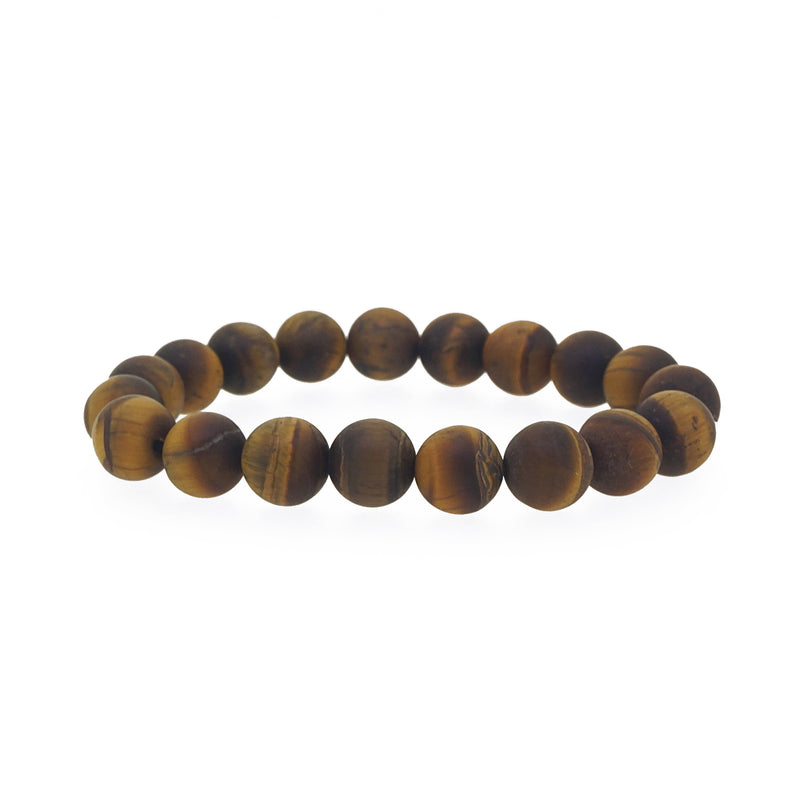 Matte Tiger Eye 10mm - Gaea | Crystal Jewelry & Gemstones (Manila, Philippines)