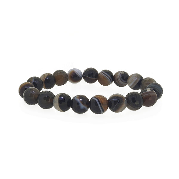 Black Agate Faceted 10mm - Gaea | Crystal Jewelry & Gemstones (Manila, Philippines)