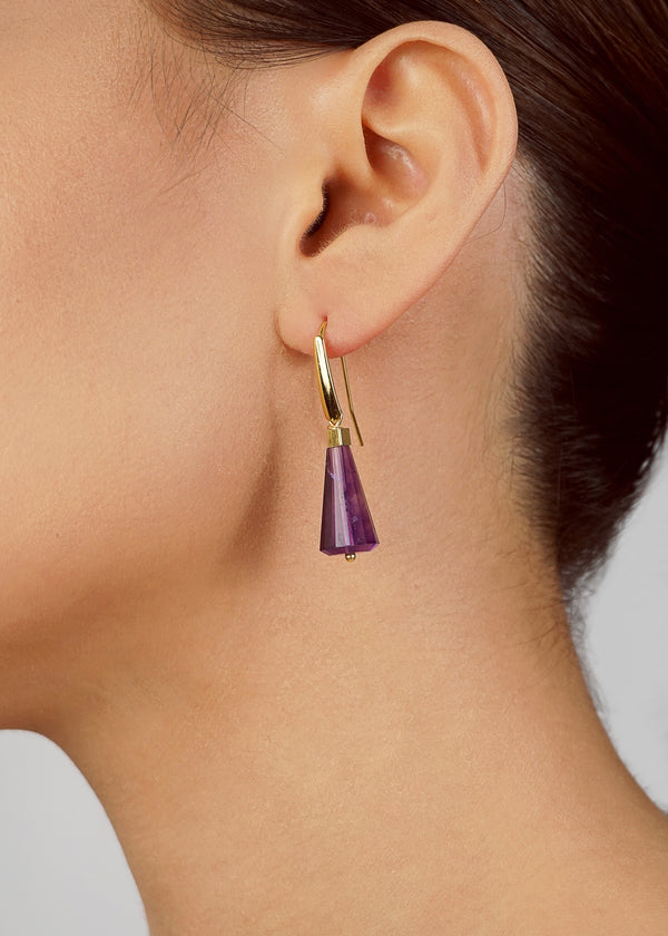 Amethyst Faceted Cone - Gaea | Crystal Jewelry & Gemstones (Manila, Philippines)