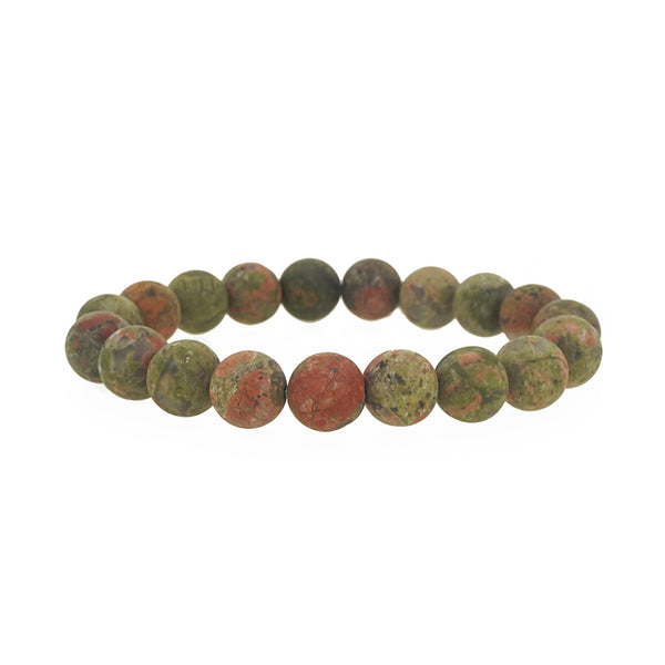 Unakite Jasper 10mm - Gaea | Crystal Jewelry & Gemstones (Manila, Philippines)