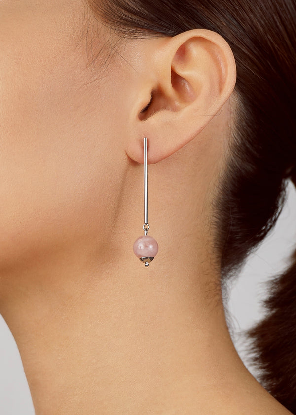 Madagascar Rose Quartz 10mm Drop - Gaea | Crystal Jewelry & Gemstones (Manila, Philippines)