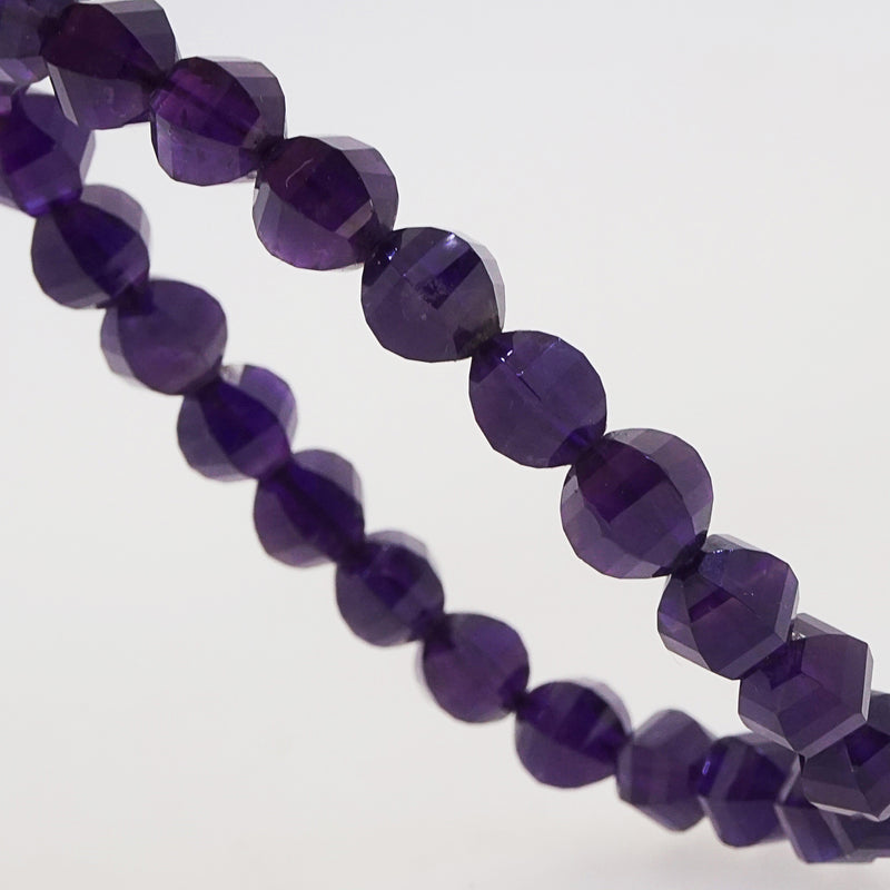 Amethyst Faceted Mirror Ball 8mm - Gaea | Crystal Jewelry & Gemstones (Manila, Philippines)