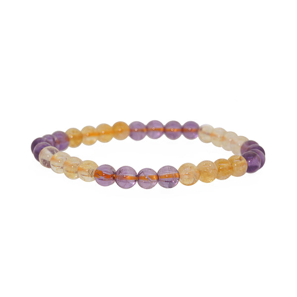 Citrine and Amethyst 6mm - Gaea | Crystal Jewelry & Gemstones (Manila, Philippines)