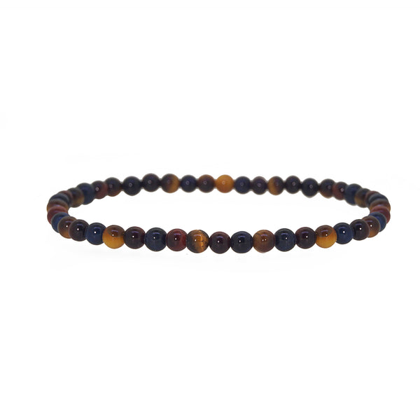 Tricolor Tiger Eye 4mm - Gaea | Crystal Jewelry & Gemstones (Manila, Philippines)