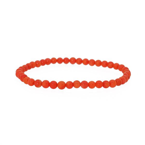 Japanese Coral 4mm - Gaea | Crystal Jewelry & Gemstones (Manila, Philippines)