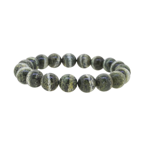 Chrysotile in Serpentine 10mm - Gaea | Crystal Jewelry & Gemstones (Manila, Philippines)