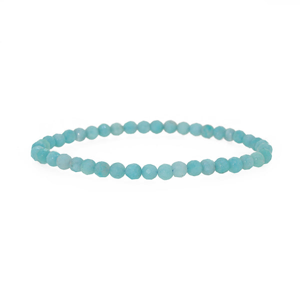 Amazonite Faceted 4mm - Gaea | Crystal Jewelry & Gemstones (Manila, Philippines)