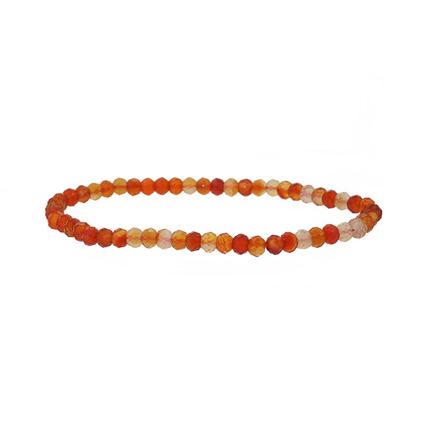 Carnelian Faceted 4mm - Gaea | Crystal Jewelry & Gemstones (Manila, Philippines)