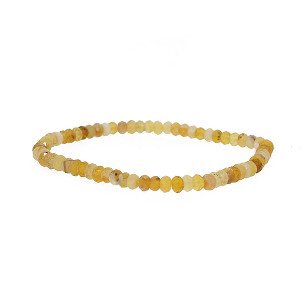 Yellow Opal Faceted Rondelle - Gaea | Crystal Jewelry & Gemstones (Manila, Philippines)