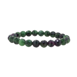Ruby Zoisite Faceted 8mm - Gaea | Crystal Jewelry & Gemstones (Manila, Philippines)
