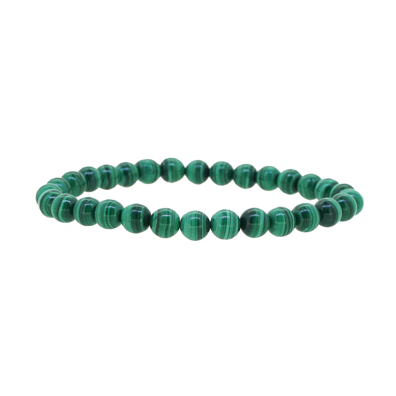 Malachite 6mm - Gaea | Crystal Jewelry & Gemstones (Manila, Philippines)