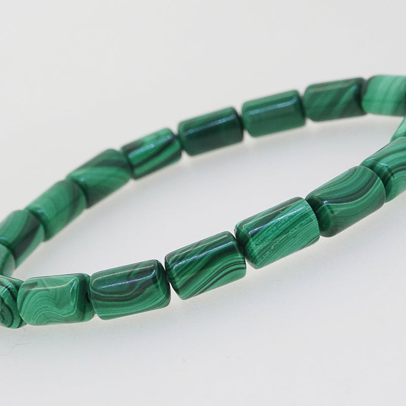 Malachite Cylinder (S) - Gaea | Crystal Jewelry & Gemstones (Manila, Philippines)