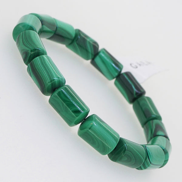 Malachite Cylinder (M) - Gaea | Crystal Jewelry & Gemstones (Manila, Philippines)