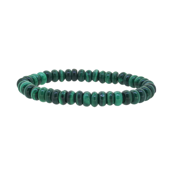 Malachite Rondelle - Gaea | Crystal Jewelry & Gemstones (Manila, Philippines)