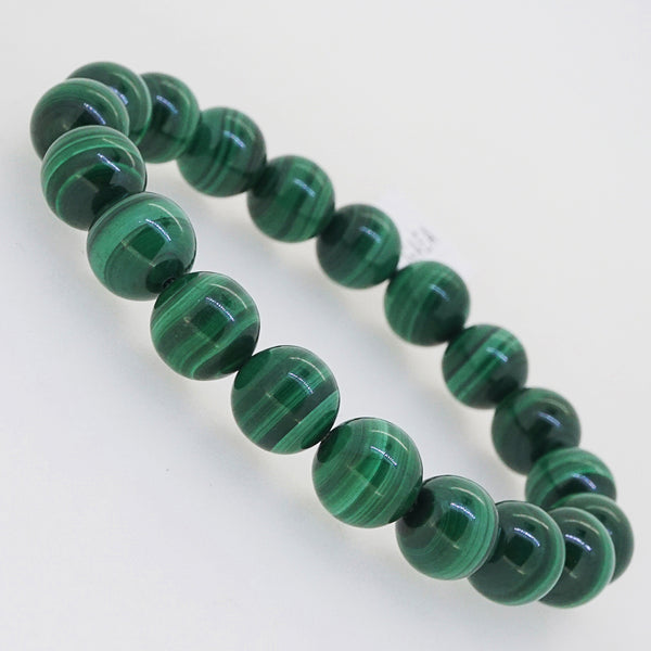 A-Grade Malachite 10mm - Gaea | Crystal Jewelry & Gemstones (Manila, Philippines)