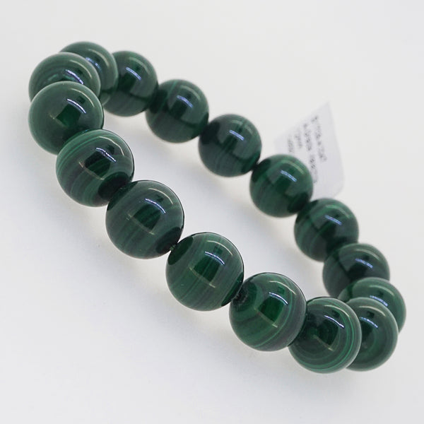 A-Grade Malachite 12mm - Gaea | Crystal Jewelry & Gemstones (Manila, Philippines)