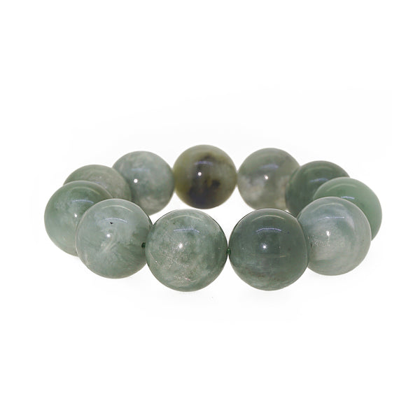 Nephrite Jade 19mm - Gaea | Crystal Jewelry & Gemstones (Manila, Philippines)