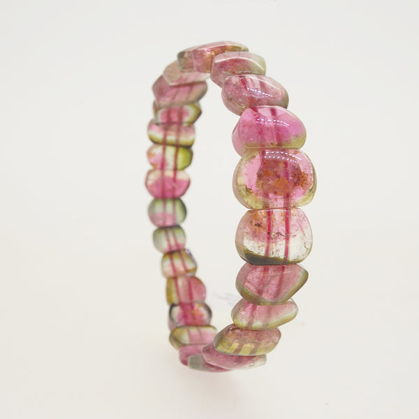 AA-Grade Watermelon Tourmaline Bangle - Gaea | Crystal Jewelry & Gemstones (Manila, Philippines)