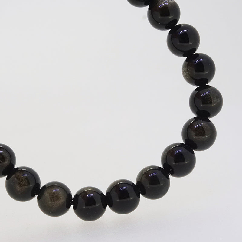 Gold Sheen Obsidian 8mm - Gaea | Crystal Jewelry & Gemstones (Manila, Philippines)