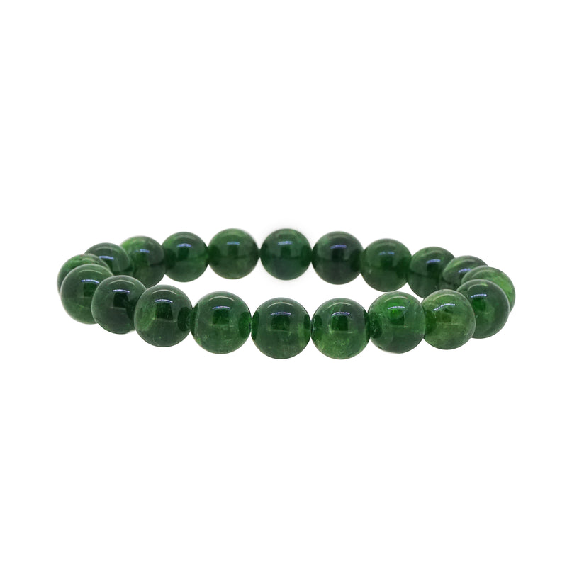 A-Grade Chrome Diopside 10mm - Gaea | Crystal Jewelry & Gemstones (Manila, Philippines)