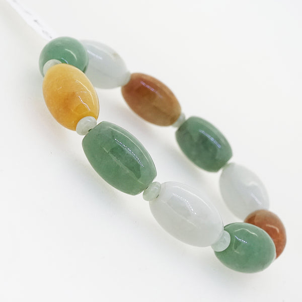 A-Grade Burma Jade Barrel (L) - Gaea | Crystal Jewelry & Gemstones (Manila, Philippines)