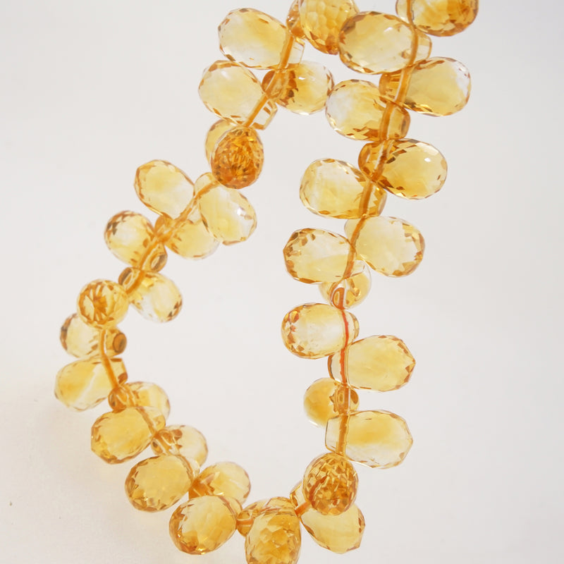 Gem-Grade Citrine Briolette - Gaea | Crystal Jewelry & Gemstones (Manila, Philippines)