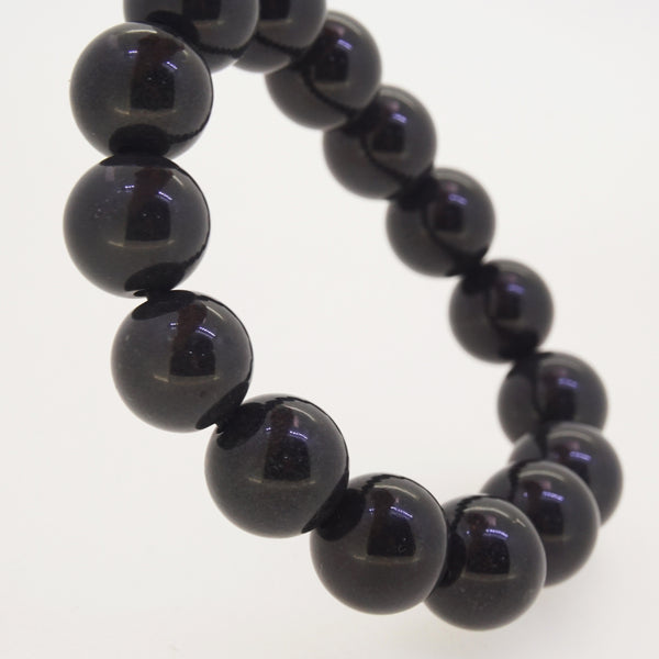 Black Nephrite Jade 14mm - Gaea | Crystal Jewelry & Gemstones (Manila, Philippines)