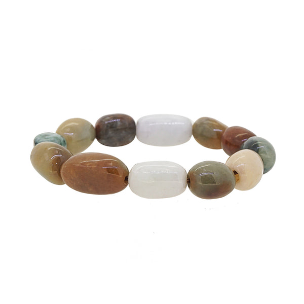 Burma Jade Mixed Colors Tumble - Gaea