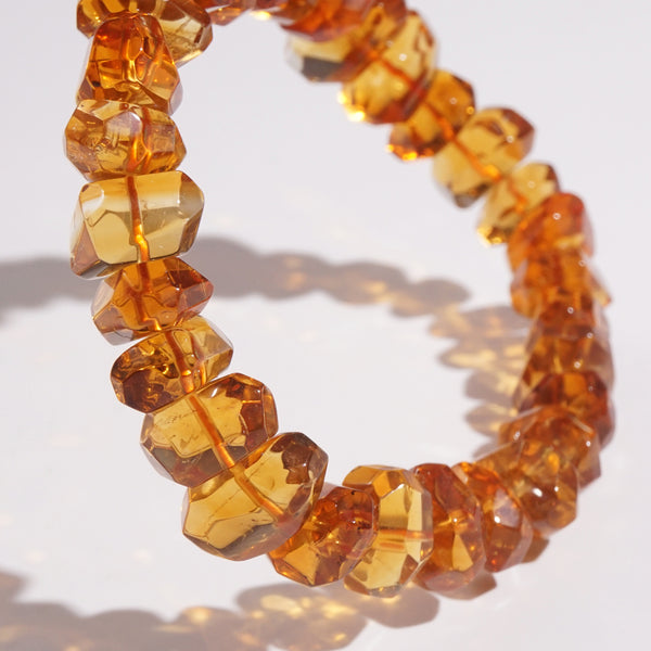 A-Grade Citrine Faceted Nugget