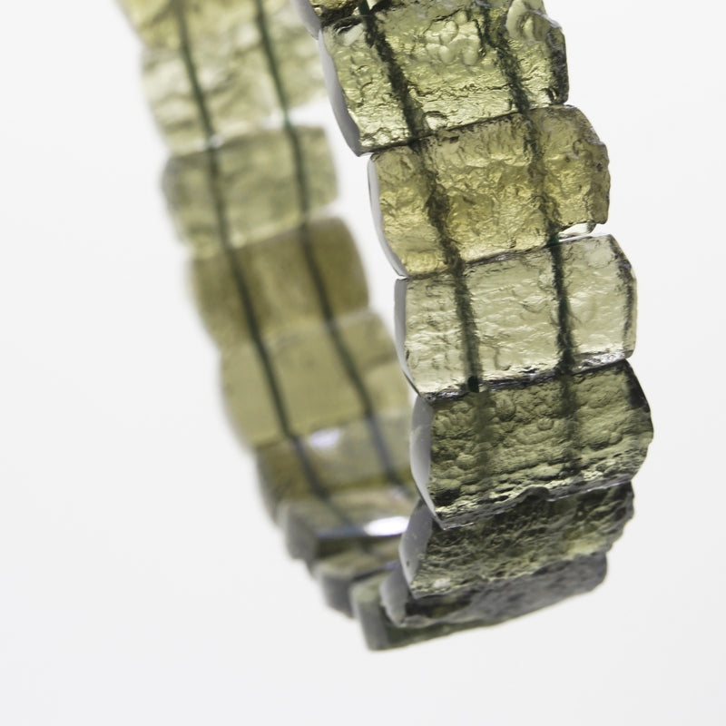 Moldavite Bangle - Gaea | Crystal Jewelry & Gemstones (Manila, Philippines)