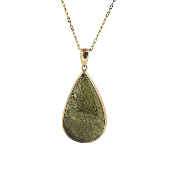 Moldavite Pear - Gaea | Crystal Jewelry & Gemstones (Manila, Philippines)