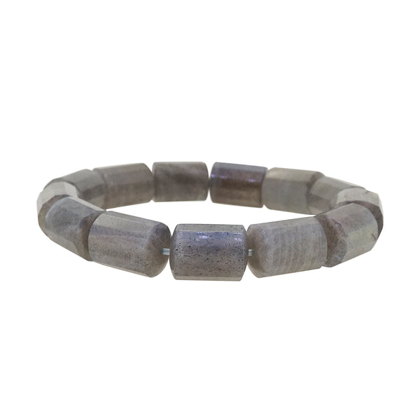 Labradorite Faceted Cylinder - Gaea | Crystal Jewelry & Gemstones (Manila, Philippines)