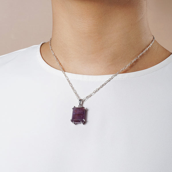 Auralite 23 Rectangle (S) - Gaea | Healing Crystals and Gemstone Jewelry (Manila, Philippines)