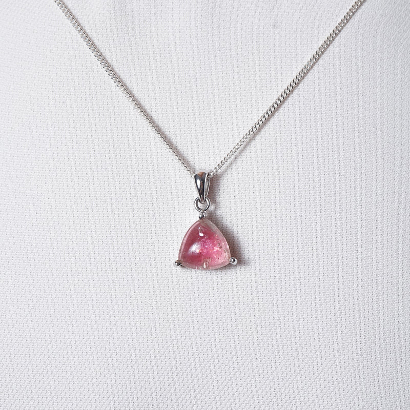A-Grade Pink Tourmaline Triangle - Gaea | Crystal Jewelry & Gemstones (Manila, Philippines)