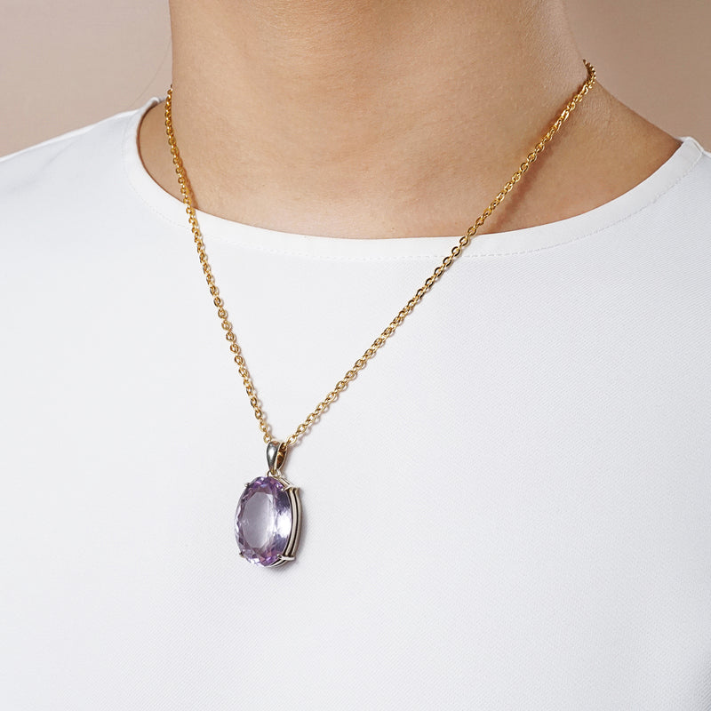 A-Grade Amethyst Faceted Oval - Gaea | Crystal Jewelry & Gemstones (Manila, Philippines)