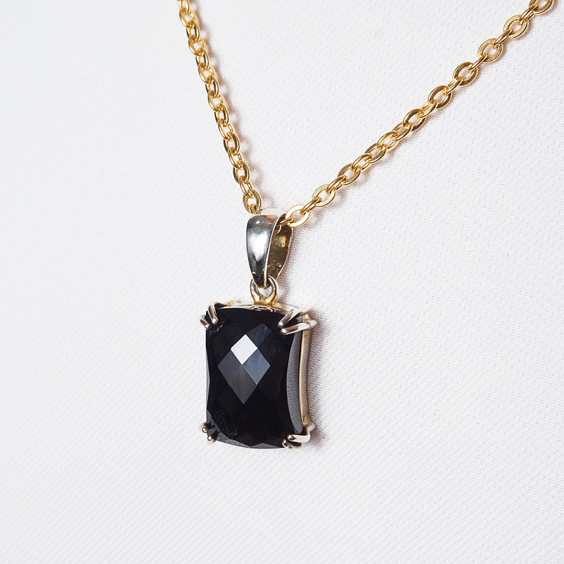 Black Onyx Faceted - Gaea | Crystal Jewelry & Gemstones (Manila, Philippines)