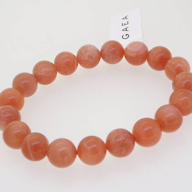 Peach Moonstone 10mm - Gaea