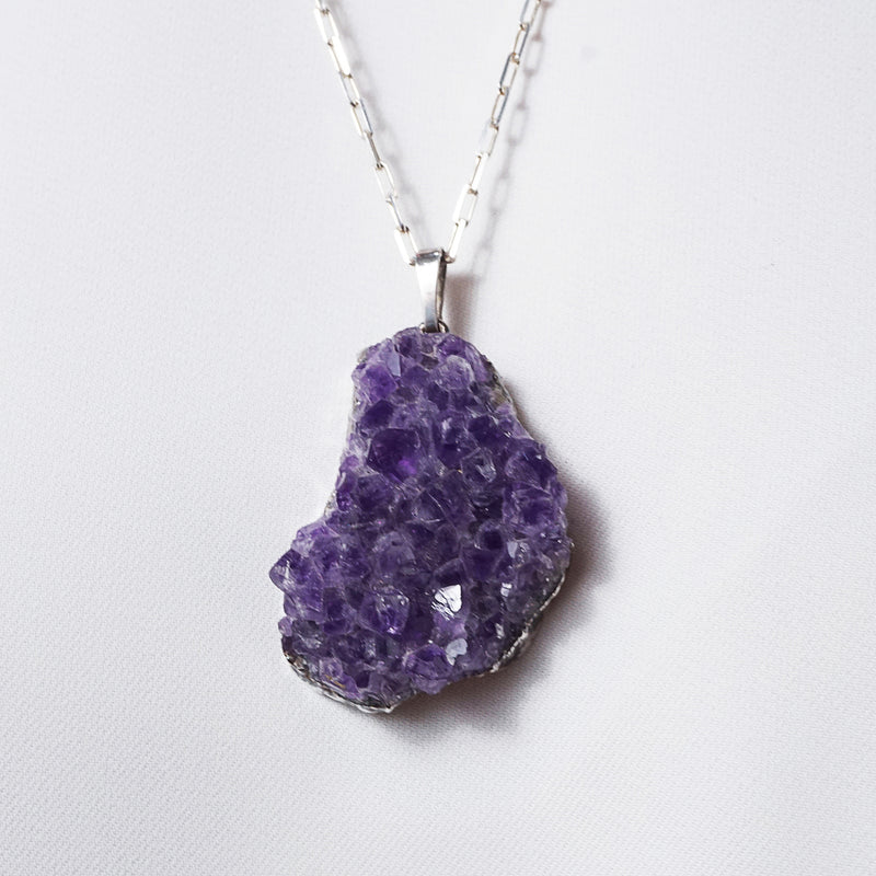 Raw Amethyst Drusy - Gaea | Crystal Jewelry & Gemstones (Manila, Philippines)