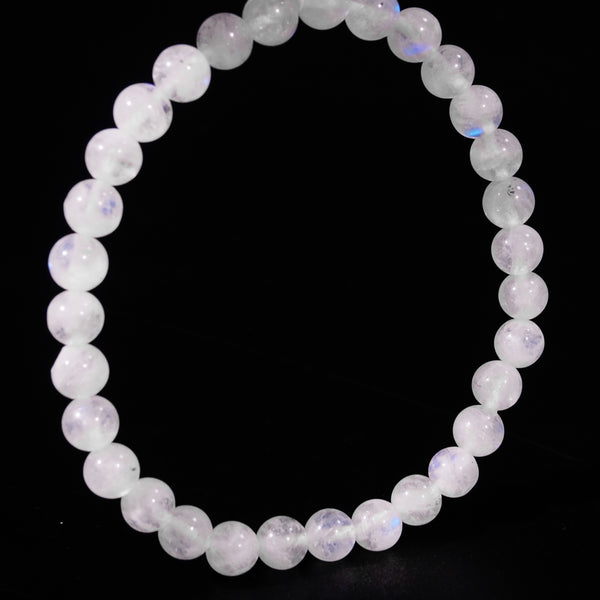A-Grade Rainbow Moonstone 6mm - Gaea | Crystal Jewelry & Gemstones (Manila, Philippines)