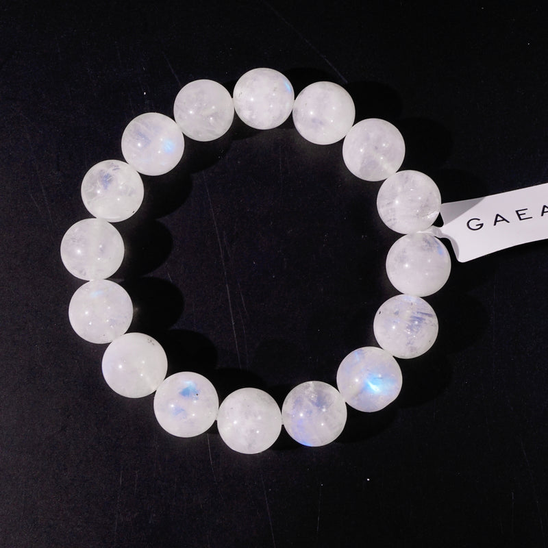 A-Grade Rainbow Moonstone 12mm - Gaea | Crystal Jewelry & Gemstones (Manila, Philippines)