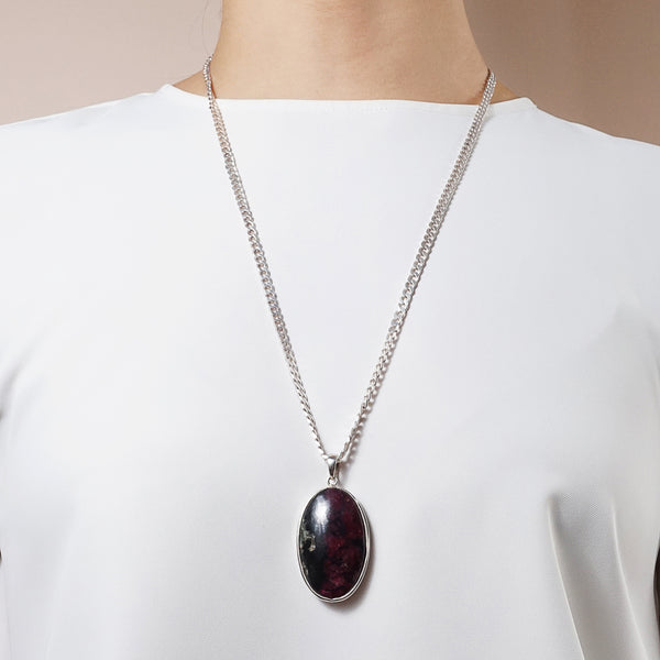 Eudialyte Oval - Gaea | Crystal Jewelry & Gemstones (Manila, Philippines)