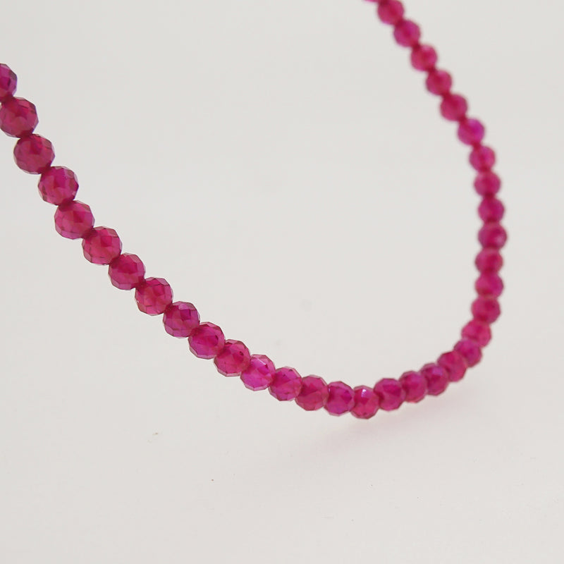 Gem-Grade Ruby Faceted 3mm - Gaea | Crystal Jewelry & Gemstones (Manila, Philippines)