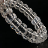 Clear Quartz Faceted Bangle - Gaea | Crystal Jewelry & Gemstones (Manila, Philippines)