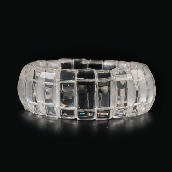 Clear Quartz Bangle (L) - Gaea | Crystal Jewelry & Gemstones (Manila, Philippines)