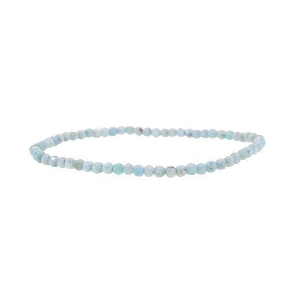 Larimar Faceted 3mm - Gaea | Crystal Jewelry & Gemstones (Manila, Philippines)