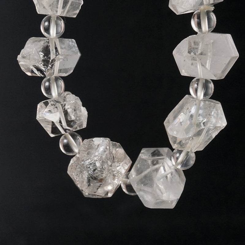 Herkimer Diamond and Clear Quartz (L) - Gaea | Crystal Jewelry & Gemstones (Manila, Philippines)